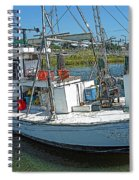 Shrimp Boat - Southern Catch Spiral Notebook