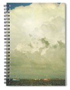 Shrimp Boats Headed Out Spiral Notebook