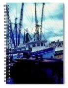 Shrimp Boats Spiral Notebook