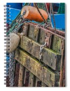Shrimpboat Tools Of The Trade Spiral Notebook