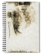 Shroud Of A Lady Spiral Notebook