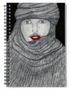Shrouded Spiral Notebook