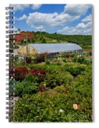 Shrubbery At A Greenhouse Spiral Notebook