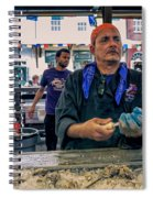 Shucking Oysters In The French Quarter Spiral Notebook