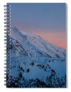Shuksan Sunset Panorama Spiral Notebook