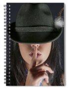 Shush  Spiral Notebook