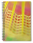 Shuttlecock Birdie Spiral Notebook