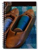 Shuttlecocks Spiral Notebook