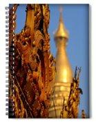 Shwe Dagon Pagoda Spiral Notebook