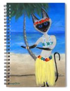 Siamese Queen Of Hawaii Spiral Notebook