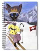 Siamese Queen Of Switzerland Spiral Notebook
