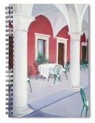 Sibenik Cafe Croatia Spiral Notebook