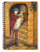 Sicilian Ciaramella Spiral Notebook