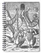 Sick Brazilian Natives Spiral Notebook