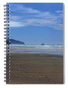 Side By Side Along The Beach Spiral Notebook
