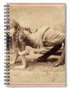 Sideshow Camel Girl, 1886 Spiral Notebook