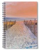 Sideside Heights Sunset Spiral Notebook