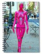 Sidewalk Catwalk 17 Spiral Notebook