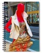Sidewalk Catwalk 4 A Spiral Notebook