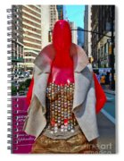 Sidewalk Catwalk 8 Spiral Notebook