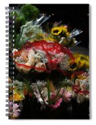 Sidewalk Flower Shop Spiral Notebook