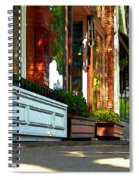 Sidewalk In Saint Helena Spiral Notebook