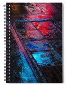 Sidewalk Reflections Spiral Notebook