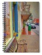 Sidewalk Shot Weston Missouri Spiral Notebook