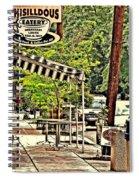 Sidewalk Stop Spiral Notebook