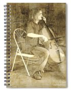Sidewalk Virtuoso Spiral Notebook