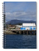 Sidney Harbour On Vancouver Island Spiral Notebook