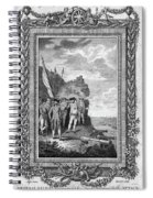 Siege Of Gibraltar, 1782 Spiral Notebook
