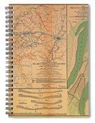 Siege Of Vicksburg 1863 Spiral Notebook