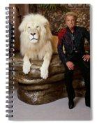 Siegfried And Roy Spiral Notebook