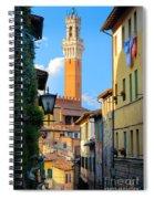 Siena Streets Spiral Notebook