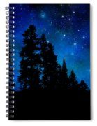 Sierra Foothills Wall Mural Spiral Notebook
