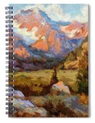 Sierra Nevada Mountains Spiral Notebook