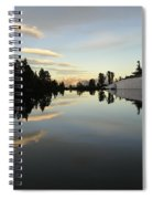 Sierra Reflection II Spiral Notebook