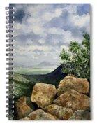 Sierra San Jose From Montezuma Pass Spiral Notebook