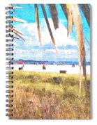 Siesta Key In Fall Spiral Notebook