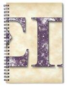 Sigma Pi - Parchment Spiral Notebook