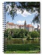 Sigmaringen Castle 4 Spiral Notebook