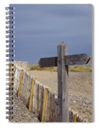 Sign Post To Nowhere Spiral Notebook