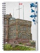 Cabot Tower Spiral Notebook