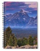 Signal Mountain Sunrise Spiral Notebook