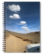 Signals ... Along The Bristlecone Pine Highway, White Mountains, California.  Spiral Notebook