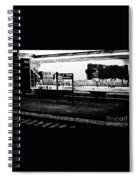 Signs Monochrome Spiral Notebook