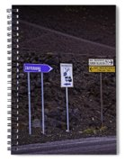 Signs Of A Crater - Sicily Spiral Notebook