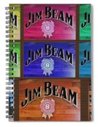 Signs Of Jim Beam Spiral Notebook