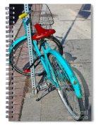 Signs Of Parking At Sundown Spiral Notebook